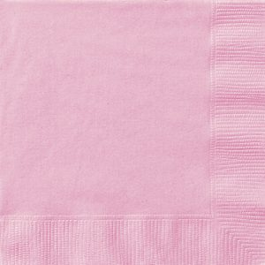 20 SERVILLETAS MEDIANAS Lovely pink