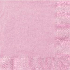 20 SERVILLETAS MEDIANAS Lovely pink