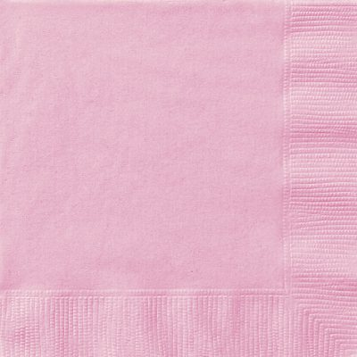 20 Lovely Pink Lunch Napkins