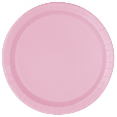 8 PLATOS GRANDES Lovely Pink