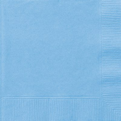 20 SERVILLETAS MEDIANAS Powder Blue