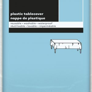 MANTEL Powder Blue  54X108-Sp