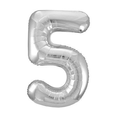34 Pulgadas Pkg Silver Foil Balloon-5