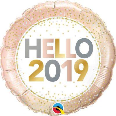 18 Pulgadas Rnd 01Ct Hello 2019