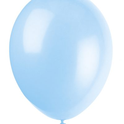 10 Ct 12 Pulgadas Cool Blue Balloons