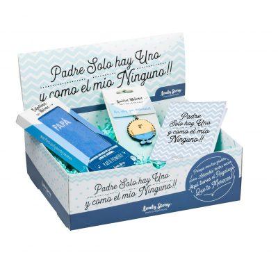 LOVELY BOX PAPA 01 (CL0115 + LL0130 + TARJETA REGALO)