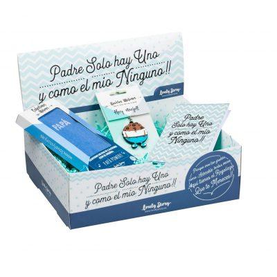 LOVELY BOX PAPA 02 ( CL0115 + LL0131 + TARJETA REGALO)