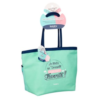 BOLSA DE PLAYA FAVORITO + NECESER  Mint