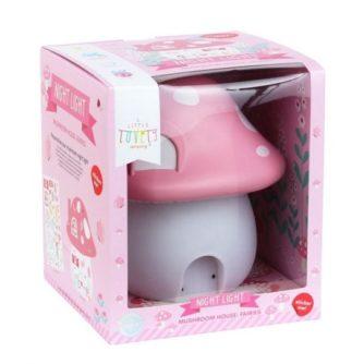 lampara sobremesa seta rosa7
