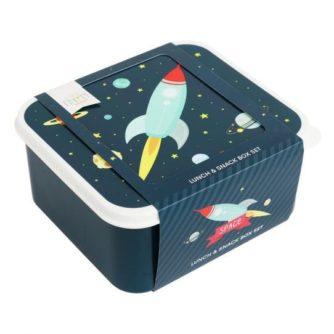 set 4 cajas almuerzo espacio3