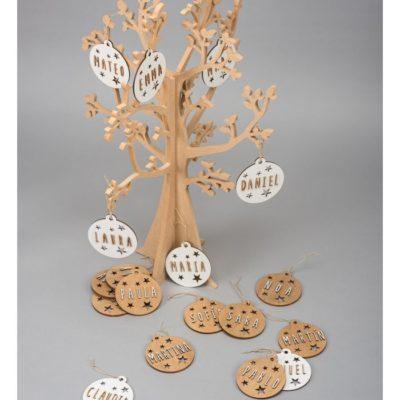 Bolas personalizadas árbol