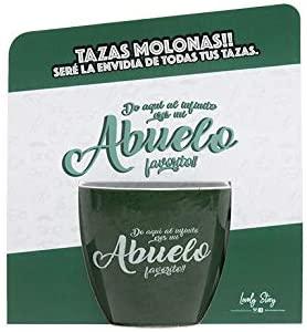 "Taza de café ""DE AQUÍ AL INFINITO ERES MI ABUELO FAVORITO"""